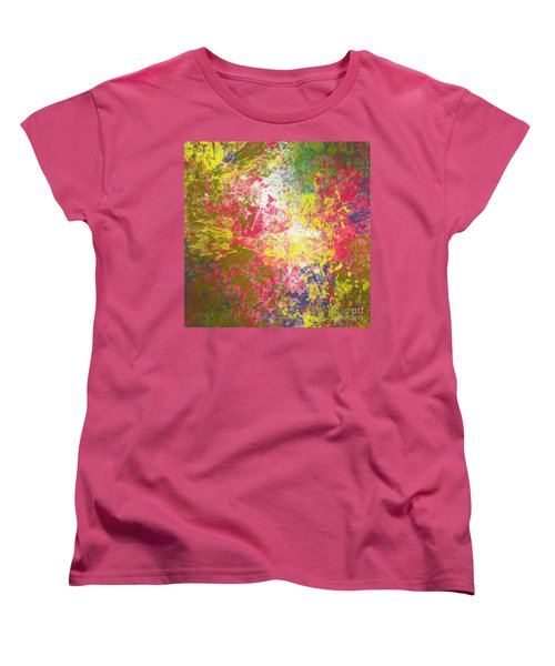 Women's T-Shirt (Standard Cut) featuring the digital art Spring Thoughts by Trilby Cole