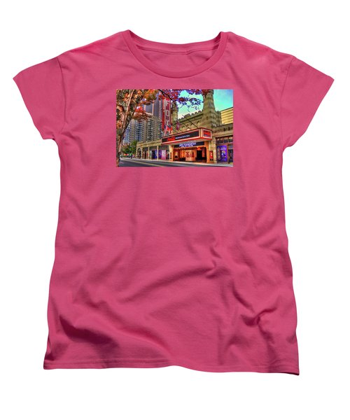 The Fabulous Fox Theatre Atlanta Georgia Art Women's T-Shirt (Standard Cut) by Reid Callaway
