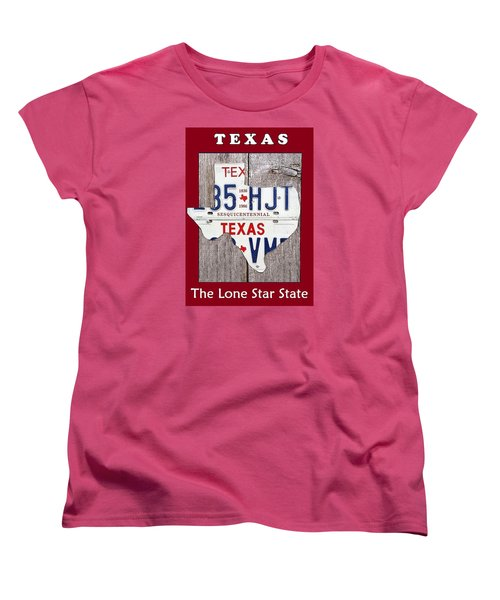 The Lone Star State Women's T-Shirt (Standard Cut) by Suzanne Theis