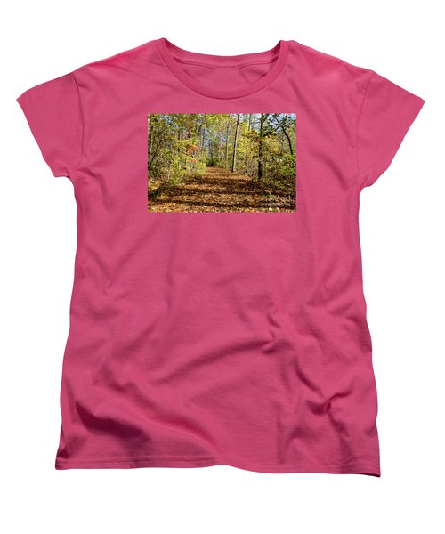 The Outlet Trail Women's T-Shirt (Standard Cut) by William Norton