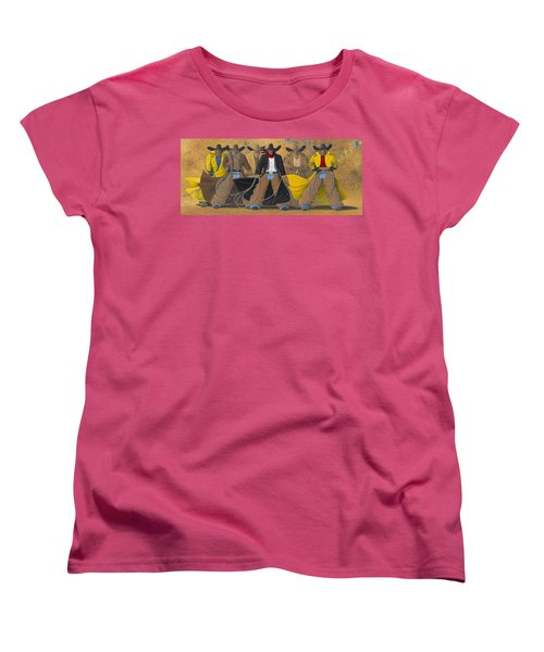 The Posse Women's T-Shirt (Standard Cut) by Lance Headlee