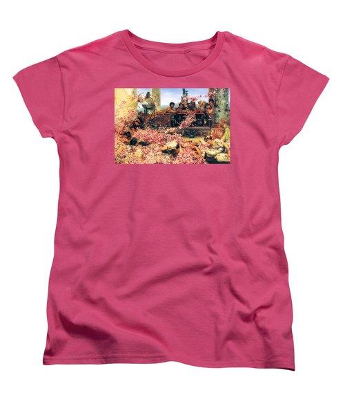The Roses Of Heliogabalus Women's T-Shirt (Standard Cut) by Sumit Mehndiratta