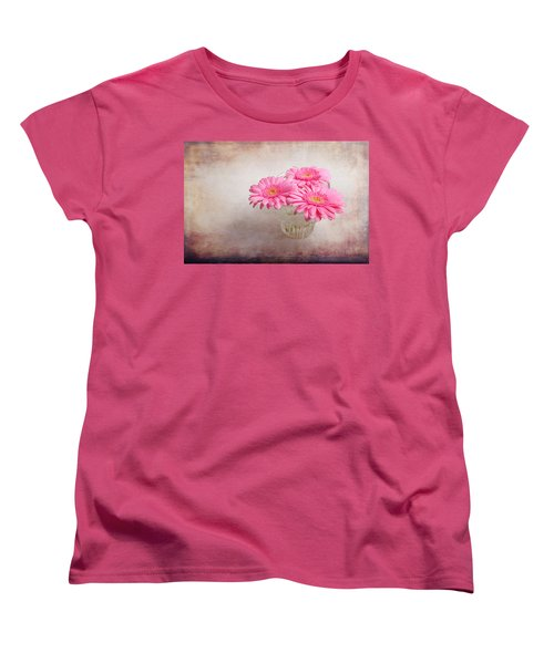 Three Of Us Women's T-Shirt (Standard Cut) by Randi Grace Nilsberg
