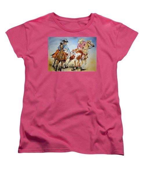 Victory Dance Women's T-Shirt (Standard Cut) by Jimmy Smith