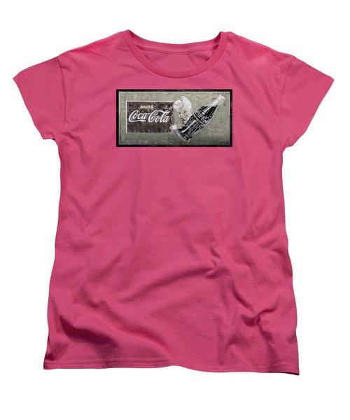 Vintage 1916 Hand Painted Coca Cola Sign Women's T-Shirt (Standard Cut)