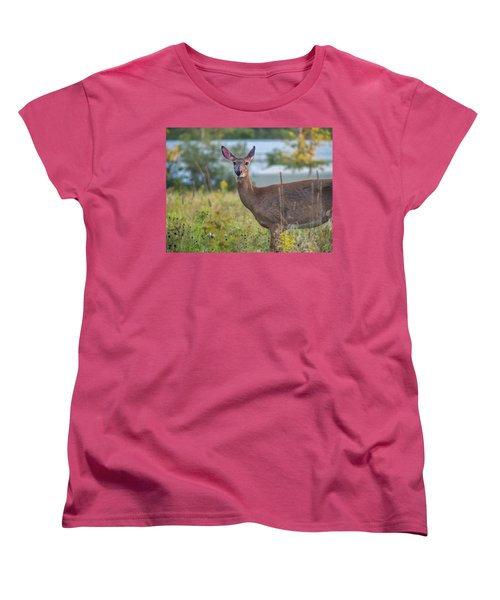 Down East Maine  Women's T-Shirt (Standard Cut) by Trace Kittrell