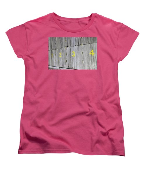 Women's T-Shirt (Standard Cut) featuring the photograph 1234 by Stephen Mitchell