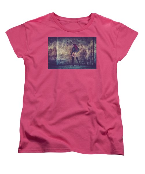 Women's T-Shirt (Standard Cut) featuring the photograph Pretty Things Are Going To Hell by Traven Milovich