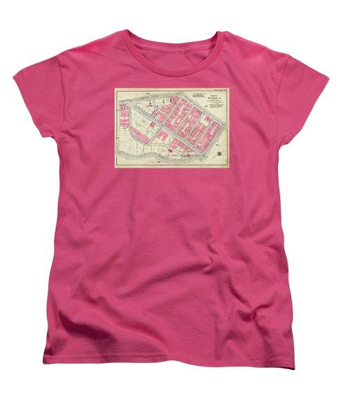1930 Inwood Map  Women's T-Shirt (Standard Cut)