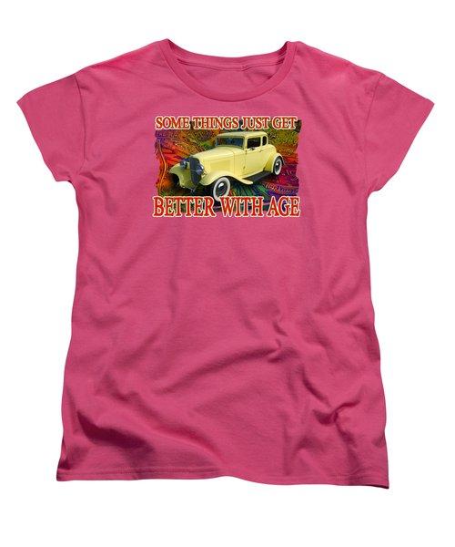 1932 Ford Coupe Women's T-Shirt (Standard Cut) by Richard Farrington