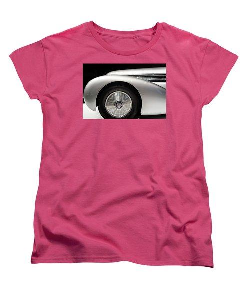 1938 Hispano-suiza H6b Xenia Women's T-Shirt (Standard Cut) by Wade Brooks