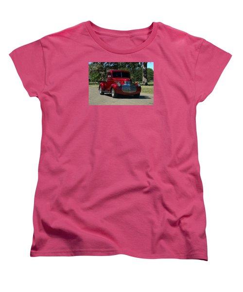 1946 Chevrolet Pickup Truck Women's T-Shirt (Standard Cut) by Tim McCullough