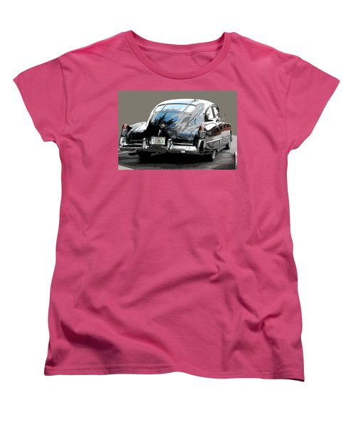 1948 Fastback Cadillac Women's T-Shirt (Standard Cut) by Robert Meanor