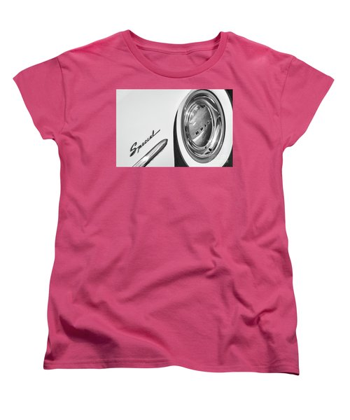 Women's T-Shirt (Standard Cut) featuring the photograph 1953 Special Monotone by Dennis Hedberg