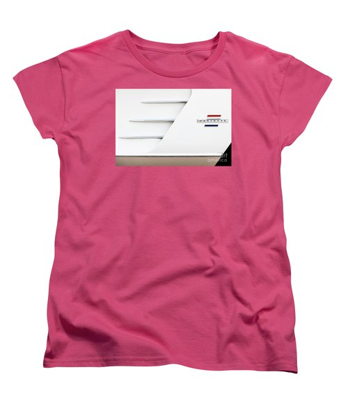 Women's T-Shirt (Standard Cut) featuring the photograph 1961 Cove by Dennis Hedberg
