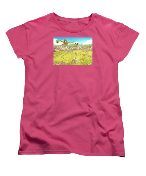 Chiricahua Mountains Women's T-Shirt (Standard Cut) by Reynold Jay