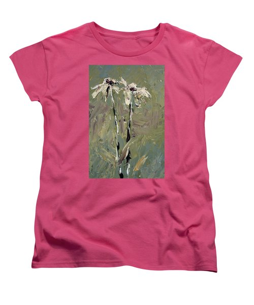 Cone Flowers Women's T-Shirt (Standard Cut) by Jim Vance