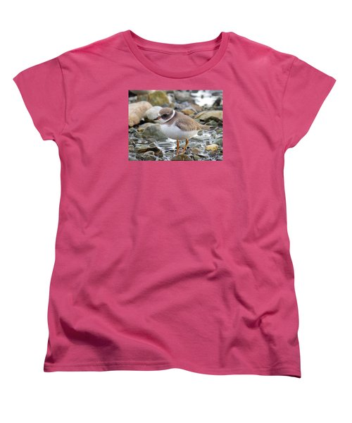 Women's T-Shirt (Standard Cut) featuring the photograph Gaze by Zinvolle Art