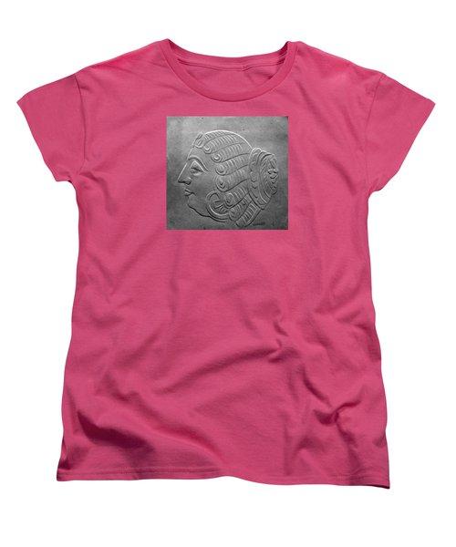 Head Women's T-Shirt (Standard Cut) by Suhas Tavkar