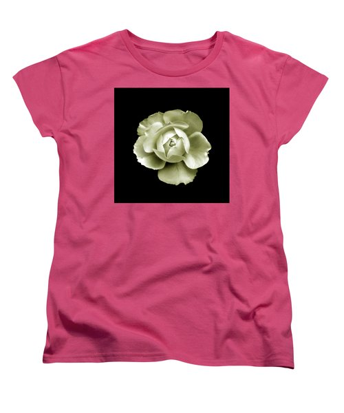 Women's T-Shirt (Standard Cut) featuring the photograph Peony by Charles Harden