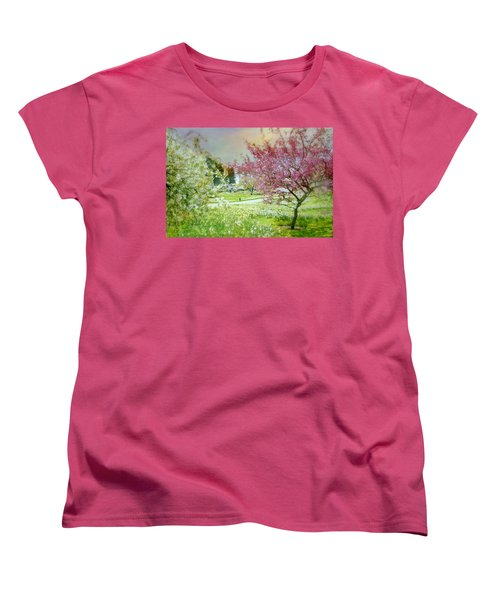 Women's T-Shirt (Standard Cut) featuring the photograph Solitude by Diana Angstadt