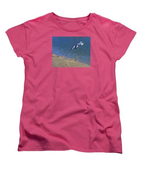 2 Terns In Flight Women's T-Shirt (Standard Cut) by Robb Stan