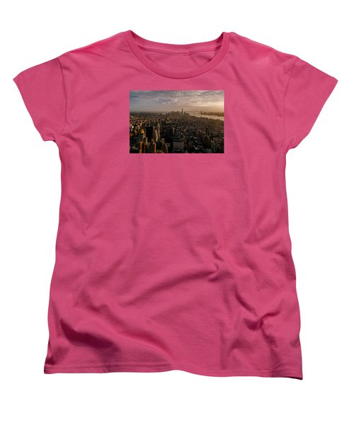 The View  Women's T-Shirt (Standard Cut) by Anthony Fields