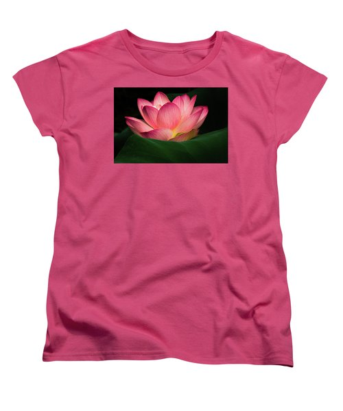 Women's T-Shirt (Standard Cut) featuring the photograph Water Lily by Jay Stockhaus