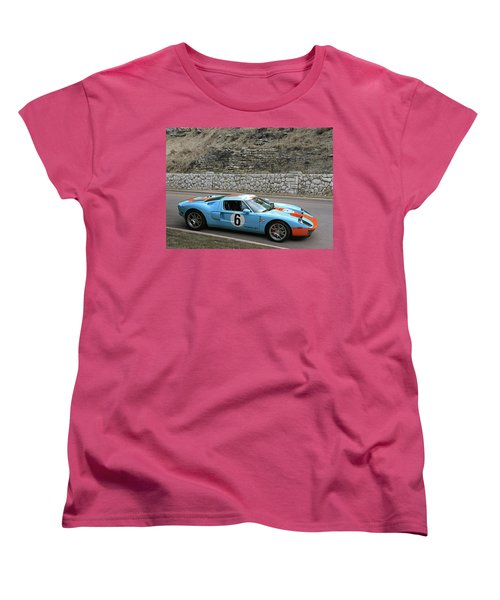 Women's T-Shirt (Standard Cut) featuring the photograph 2006 Ford Gt  by Christopher McKenzie