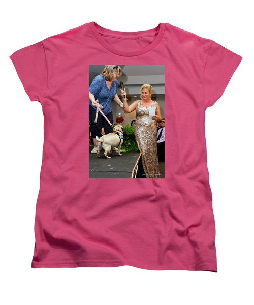 Women's T-Shirt (Standard Cut) featuring the photograph 20160806-dsc03993 by Christopher Holmes