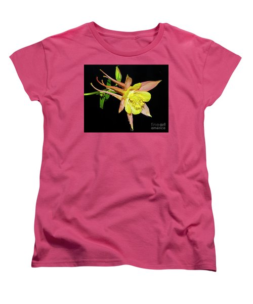 Spring Flower Women's T-Shirt (Standard Cut) by Elvira Ladocki