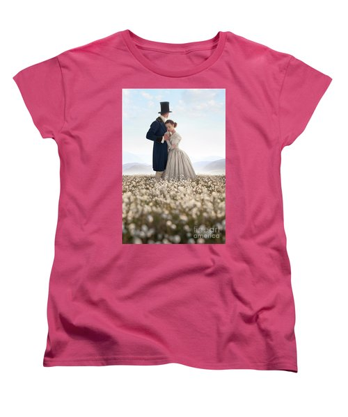 Victorian Couple Women's T-Shirt (Standard Cut) by Lee Avison