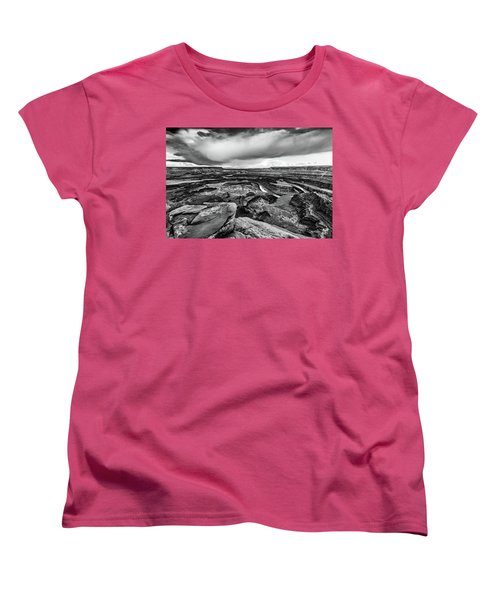 Women's T-Shirt (Standard Cut) featuring the photograph Dead Horse Point by Jay Stockhaus