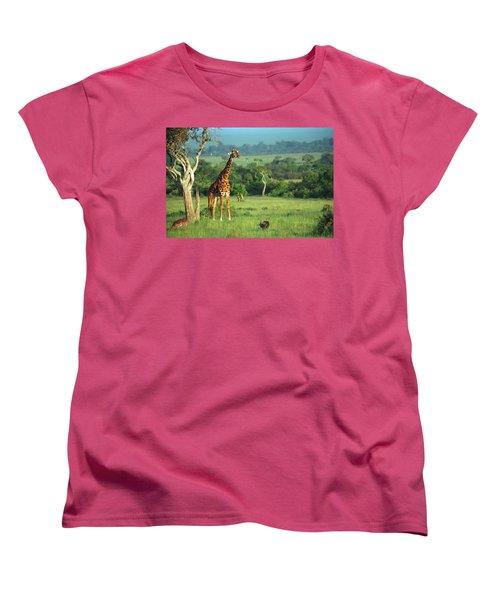 Giraffe Women's T-Shirt (Standard Cut)