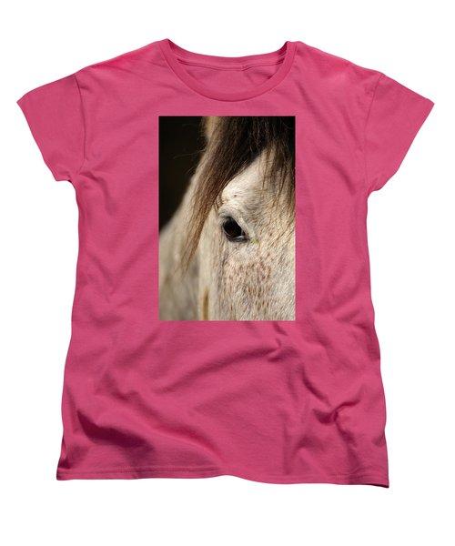 Horse Portrait Women's T-Shirt (Standard Cut)
