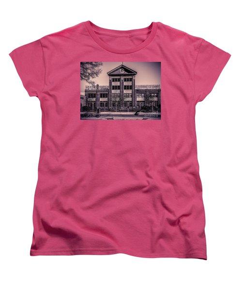 Women's T-Shirt (Standard Cut) featuring the photograph Sauer Building by Melissa Messick