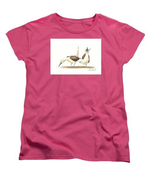 Blue Footed Boobies Women's T-Shirt (Standard Cut)