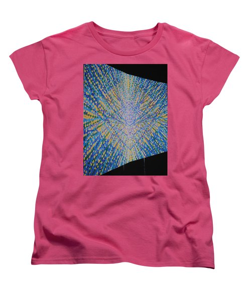 Women's T-Shirt (Standard Cut) featuring the painting Butterfly Dream by Kyung Hee Hogg