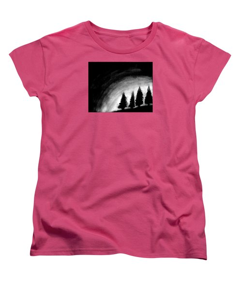 4 Pines Women's T-Shirt (Standard Cut) by Salman Ravish