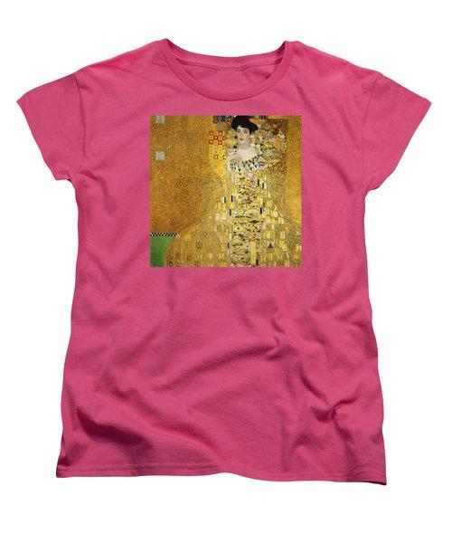 Portrait Of Adele Bloch-bauer I Women's T-Shirt (Standard Cut) by Gustav Klimt