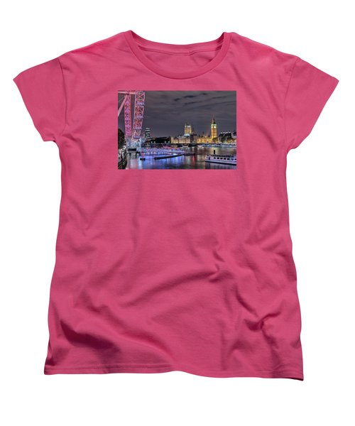 Westminster - London Women's T-Shirt (Standard Cut) by Joana Kruse