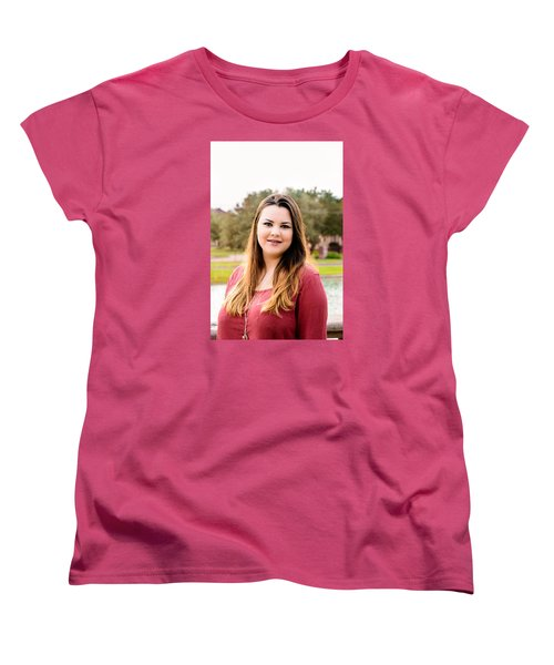 Women's T-Shirt (Standard Cut) featuring the photograph 5597 by Teresa Blanton