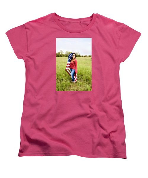 Women's T-Shirt (Standard Cut) featuring the photograph 5623-2 by Teresa Blanton