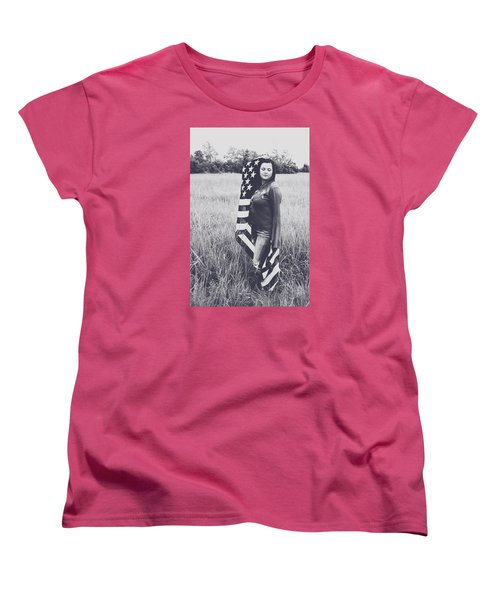 Women's T-Shirt (Standard Cut) featuring the photograph 5624-4 by Teresa Blanton