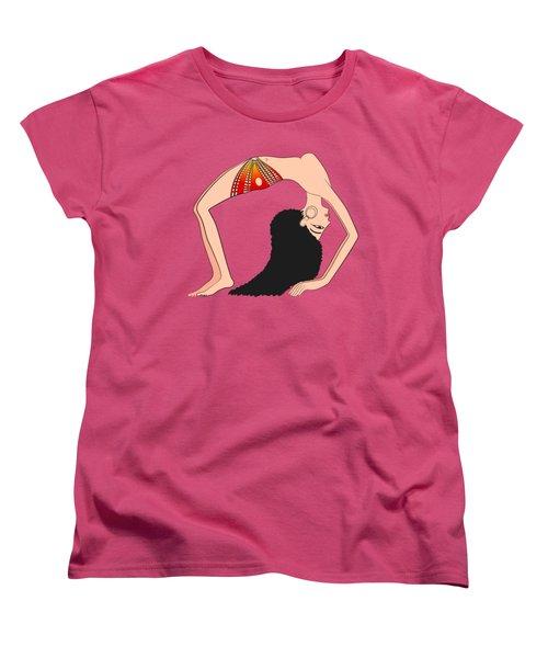 Dancer Of Ancient Egypt Women's T-Shirt (Standard Cut) by Michal Boubin