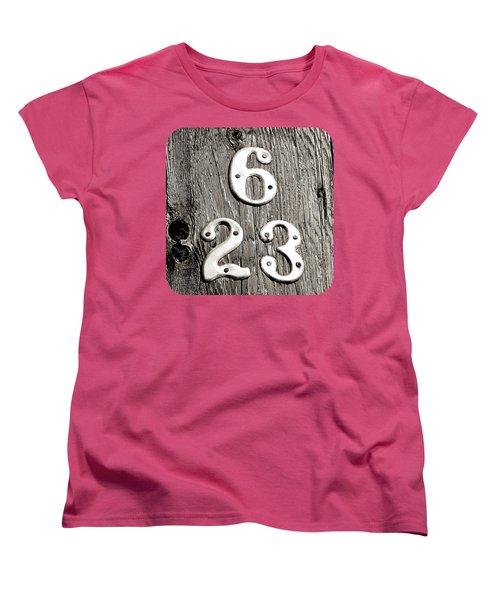 Women's T-Shirt (Standard Cut) featuring the photograph 6 Over 23 by Ethna Gillespie