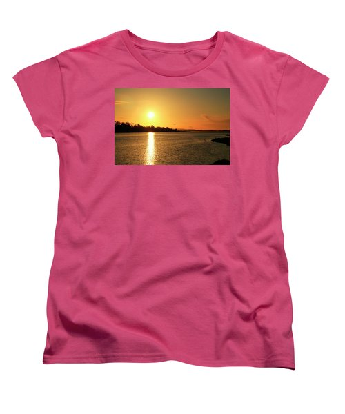 6.25am Women's T-Shirt (Standard Cut) by Martina Fagan