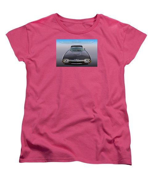 Women's T-Shirt (Standard Cut) featuring the photograph 63 Tbird by Keith Hawley