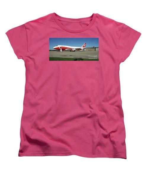747 Supertanker Women's T-Shirt (Standard Cut) by Bill Gabbert