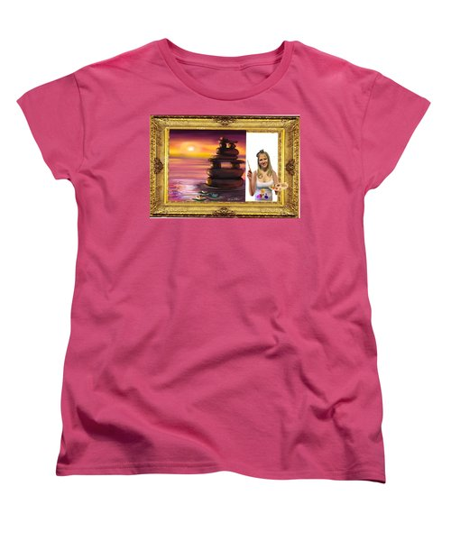 Cover Art For Gallery Women's T-Shirt (Standard Cut) by Diana Riukas